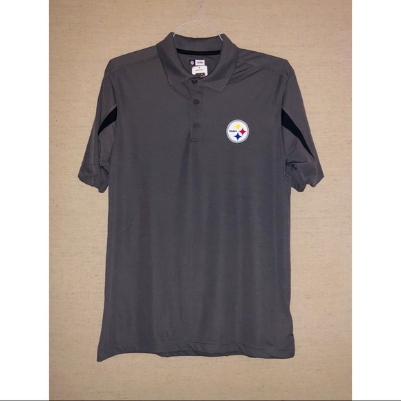 dd6d58518 Pittsburgh Steelers NFL Team Apparel TX3 Cool Polo